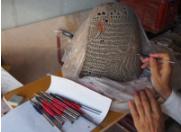 やす波窯の陶器ランプシェード作り方